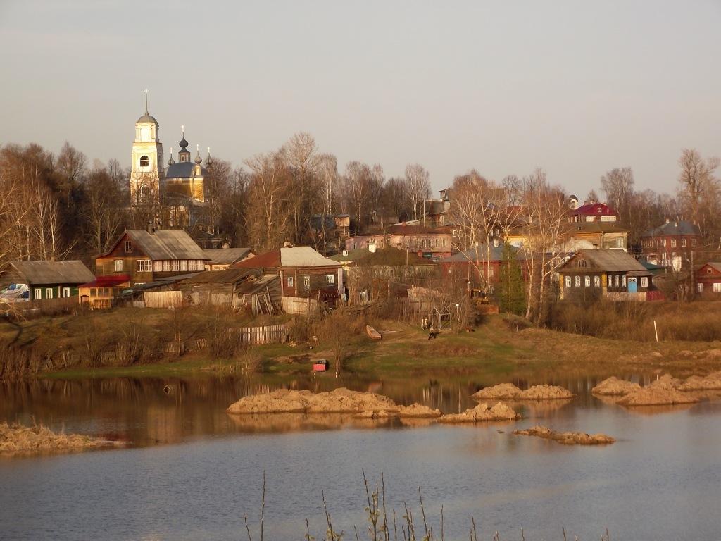 Кологрив:  город лесной тишины,  который выглядит, как 100 лет назад