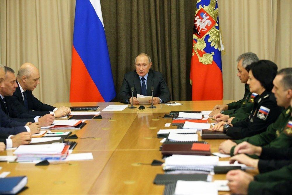 Путин: в 2018 году на серийное производство военной техники было выделено 1,5 трлн рублей