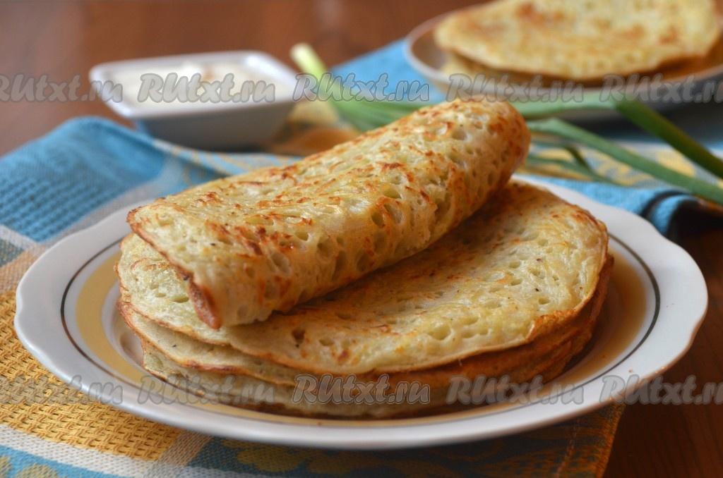 Картофельные блины: вкуснейшее блюдо на скорую руку! Быстро, дешево и сердито
