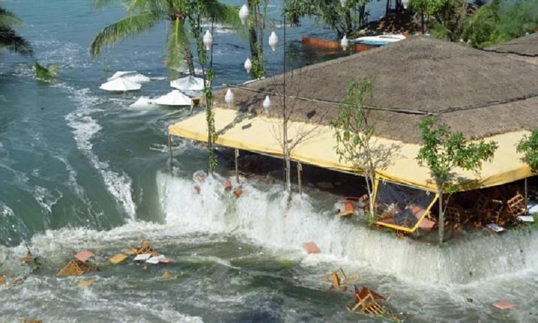 Самое катастрофическое цунам…