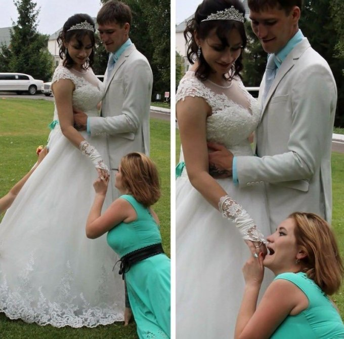 На что только не идут девушки, которые очень хотят замуж