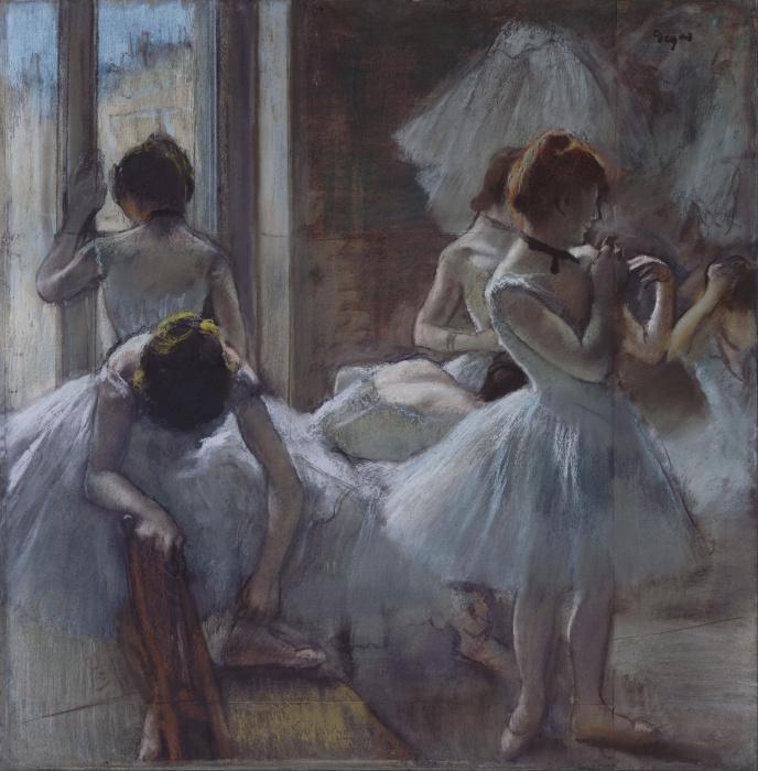 Танцовщицы отдыхают, Эдгар Дега, 1885 год. \ Фото: karmanews.it.
