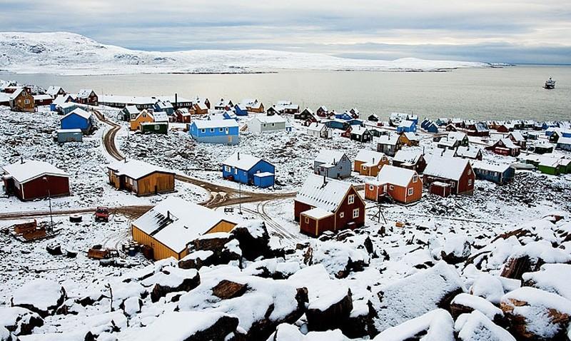 Изолированные места, где постоянно проживают люди