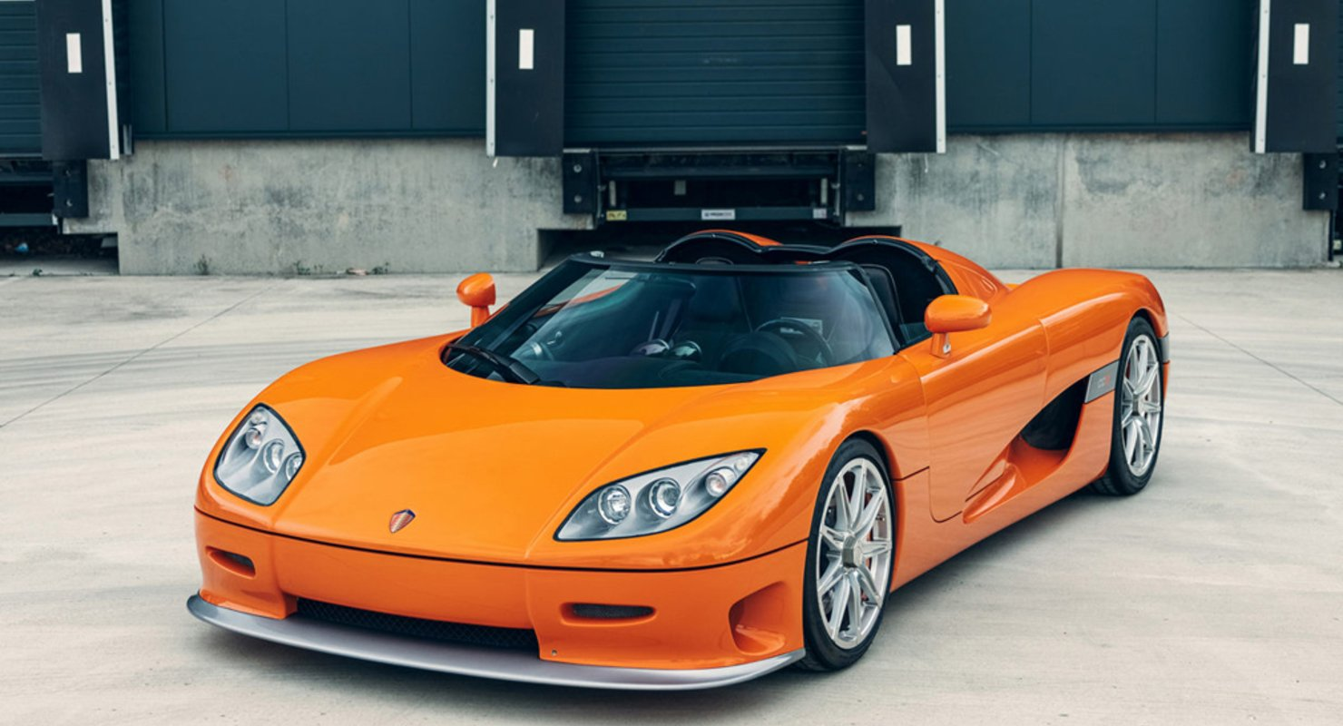 Первый экземпляр Koenigsegg CCR 2004 года выпуска выставлен на торги Автомобили
