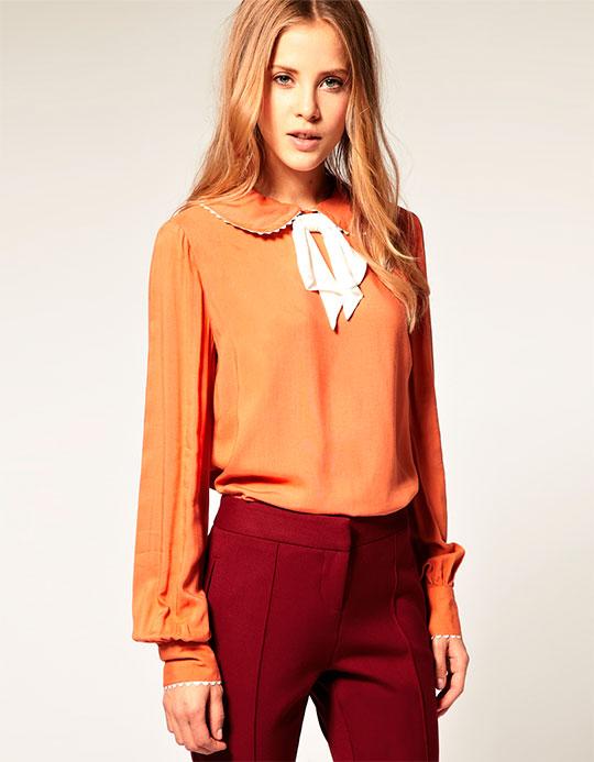 Модные блузки и рубашки