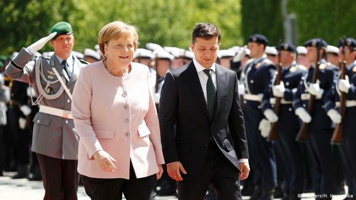 Зеленский в Германии: новый анекдот про Вовочку