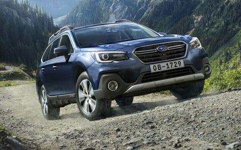 Кросс-универсал Subaru Outba…
