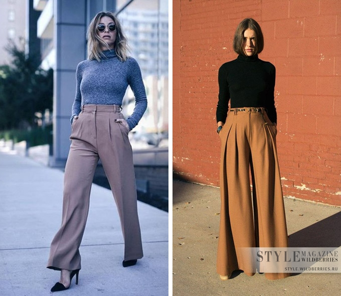 3 стильных лайфхака, как подобрать гармоничный верх к брюкам мода и красота,модные образы,модные тенденции,одежда и аксессуары