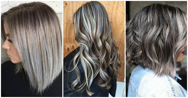 Тренд 2019 года: естественная красота серебристо-белых волос