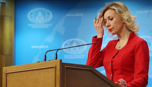 Захарова отреагировала наслова Порошенко о«холодном мире» сРоссией