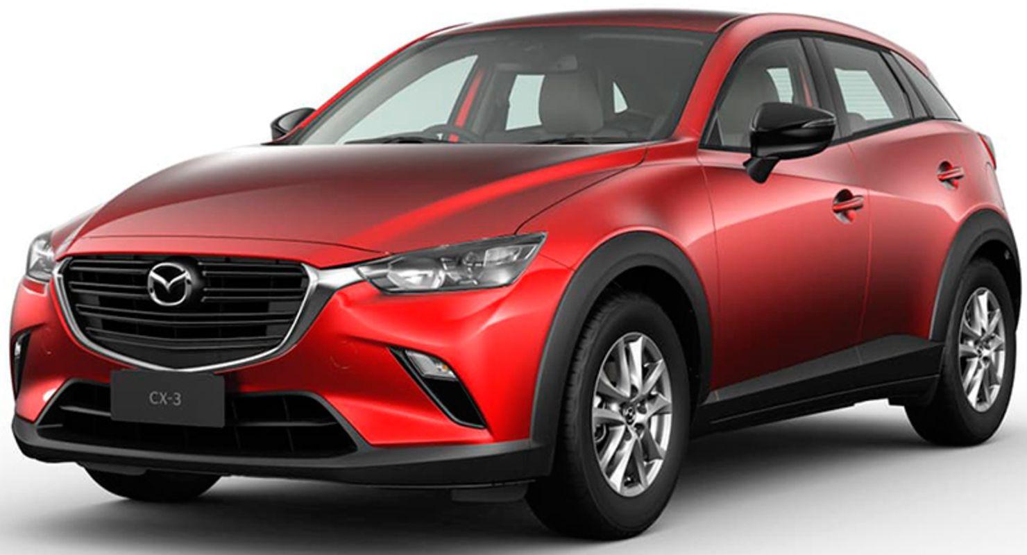 Компания Mazda обновила кросс Mazda CX-3 Автомобили