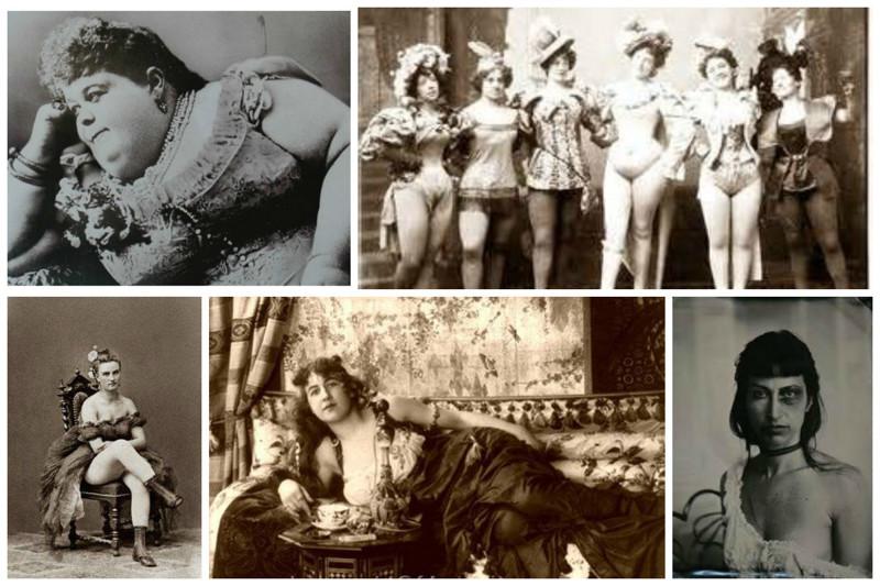 Девушки с пониженной социальной ответственностью из борделей Дикого Запада