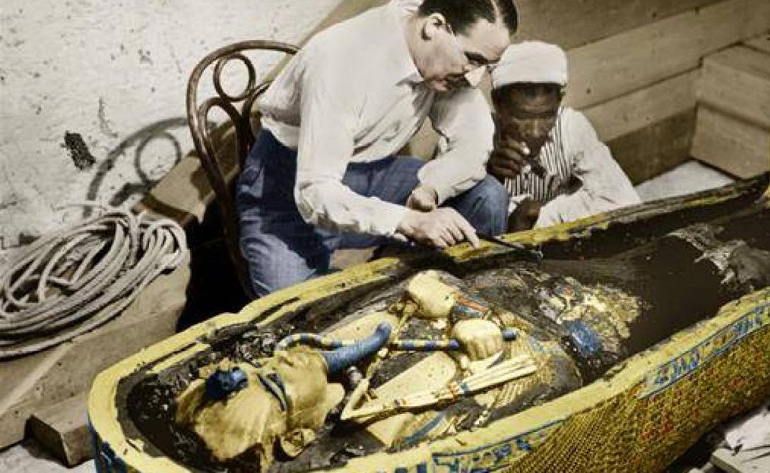 Нож Тутанхамона появился из космоса и сделан из метеорита