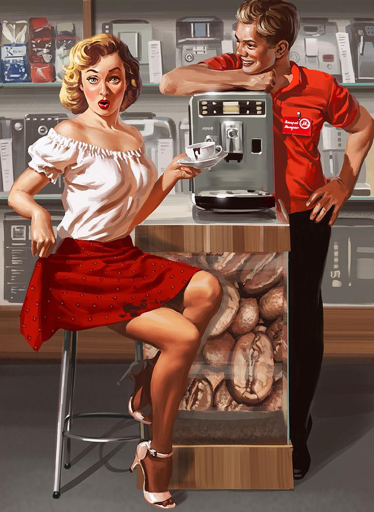 Картинки прикольные про кафе