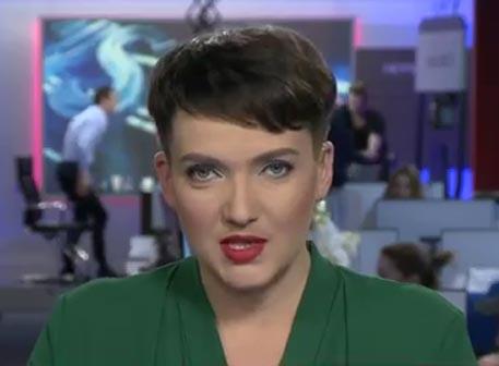 Весну почуяло: Надя Савченко определилась с полом,навела марафет и вылезла в телевизор