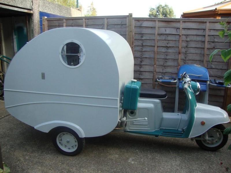 Муравей - дом на трех колесах из Англии