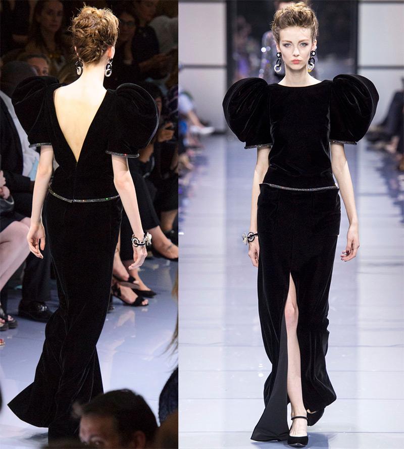 61b7dac6b75 Модные тенденции 2016-2017 -- платья с открытой спиной