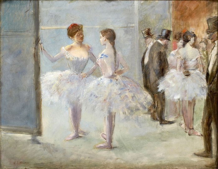 Фойе Оперы, Жан-Луи Форен, XIX век. \ Фото: google.com.