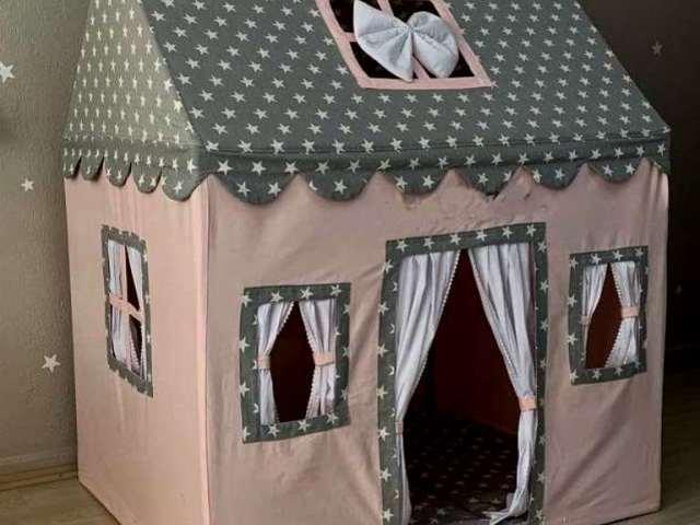 Домик для малыша в квартире своими руками из картонной коробки, бумаги или газет, подручных средств мастер-класс,творим с детьми