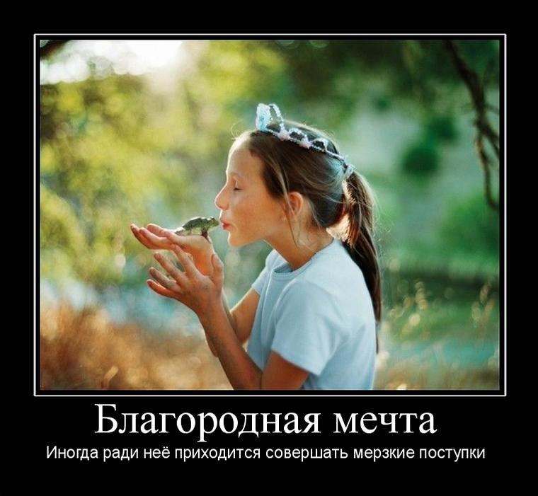 Мечта женщины демотиваторы