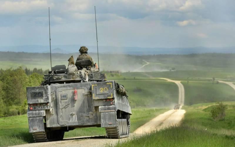 БМП Её Величества. Боевая машина пехоты «Уорриор»