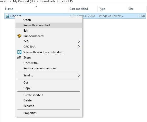 Простой способ загрузки ISO-образов Windows. Скрипт Fido
