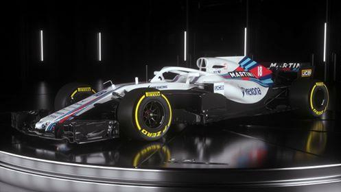 Williams FW41 – первая машин…