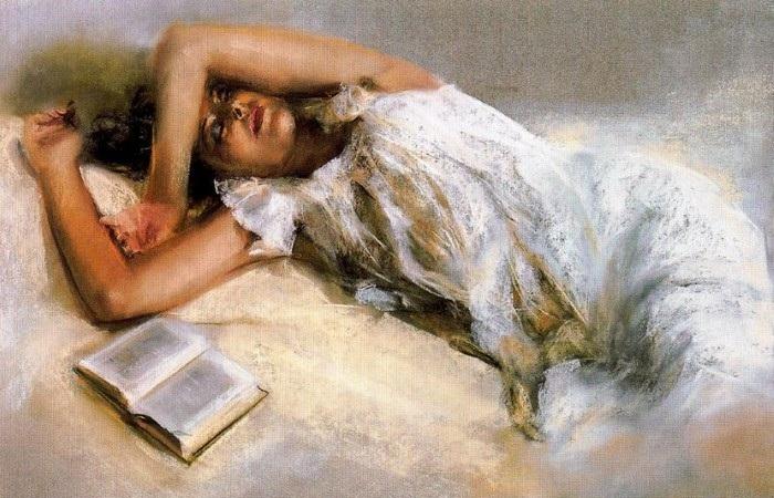 Испанские страсти на женских портретах в стиле «ню»: грациозно, нежно, обворожительно
