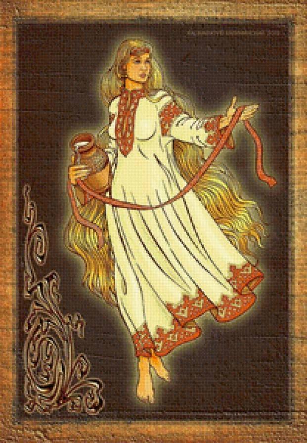 Макошь, более обширный рассказ о Образе Божества.