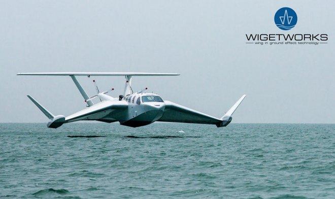 Экраноплан Airfish-8 начнет возить VIP-пассажиров Сингапура в 2019 году