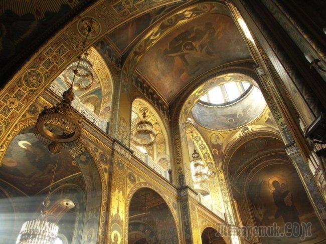 На расстоянии протянутой руки...Роспись Васнецовым Владимирского собора в Киеве