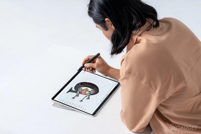 Посмотрим на новые планшеты Microsoft Surface Pro 8