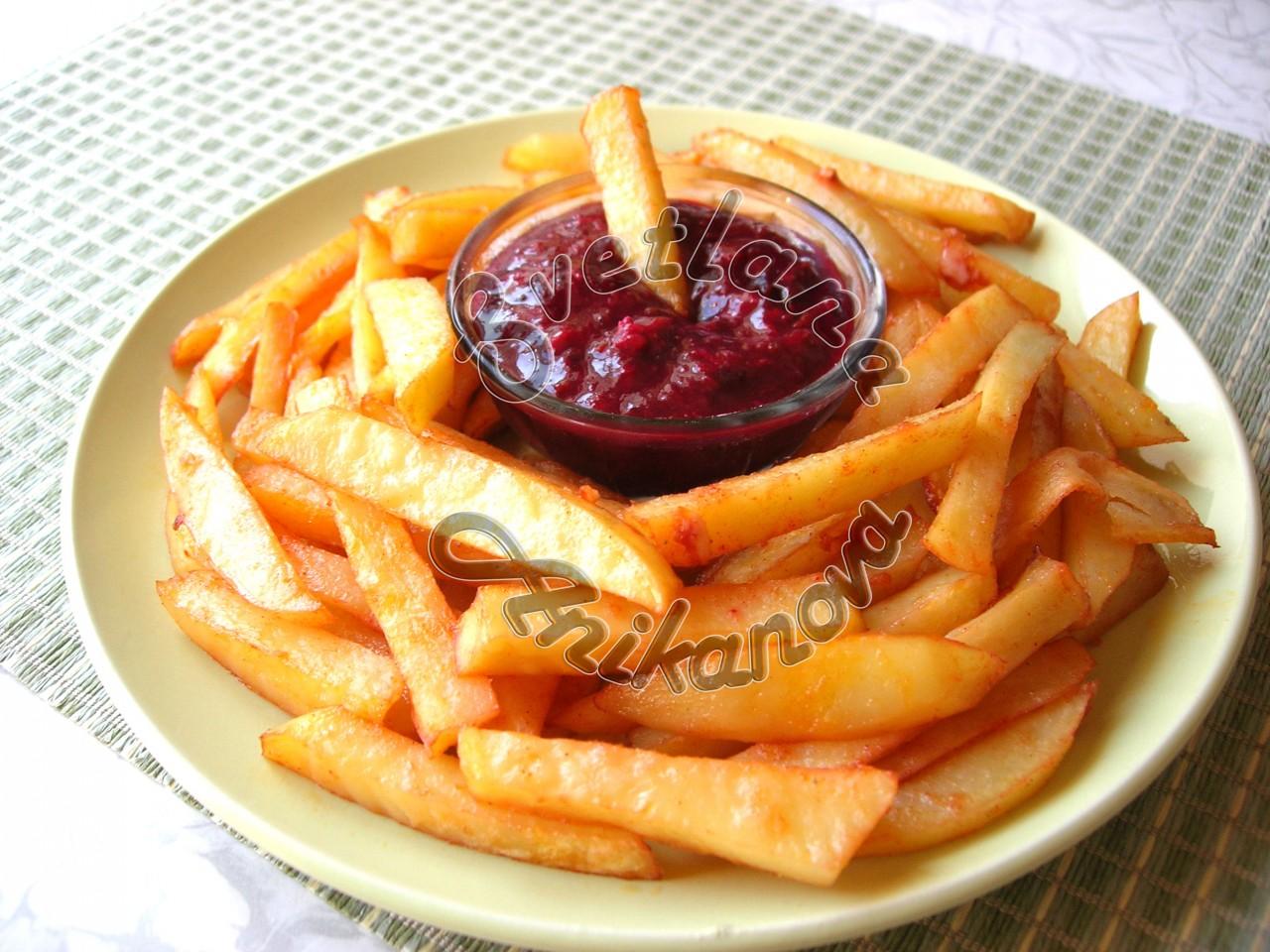 Картофель фри в духовке: вкус как в McDonald's