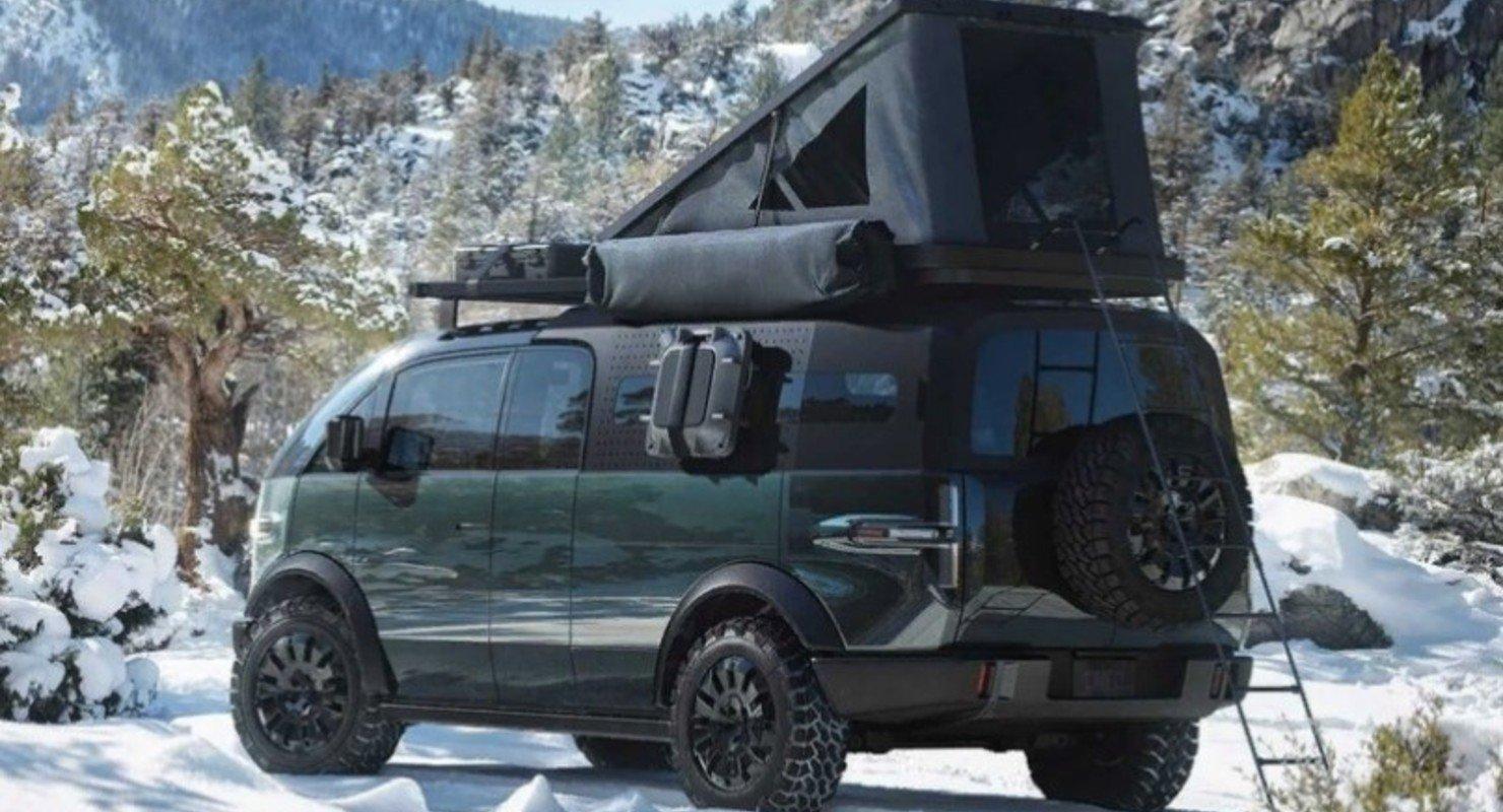 Новый электропикап Canoo уже превратили в жилой фургон Автоновинки