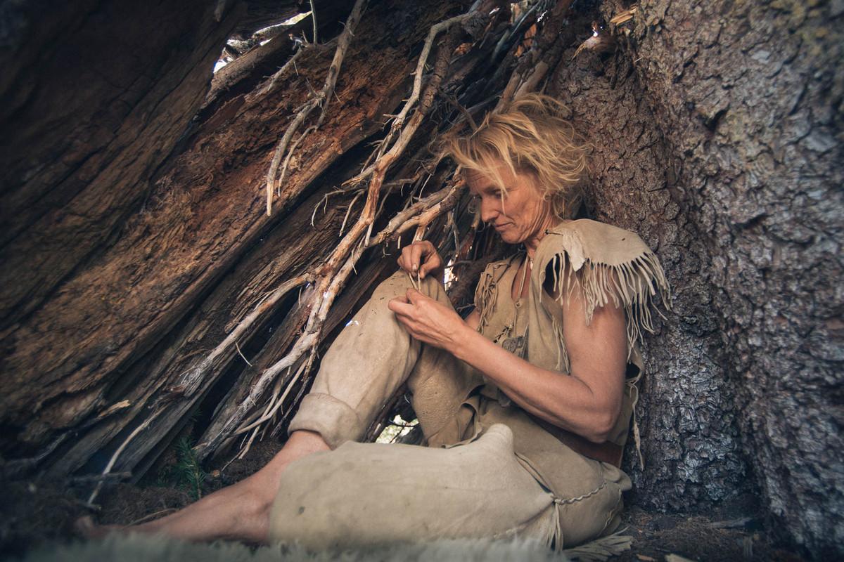Назад в палеолит: охотники-собиратели 21-го века в фотопроекте «Живущие дикими» 16