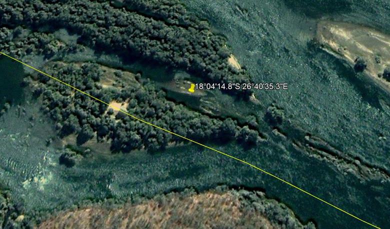 На карте реки Замбези обнару…