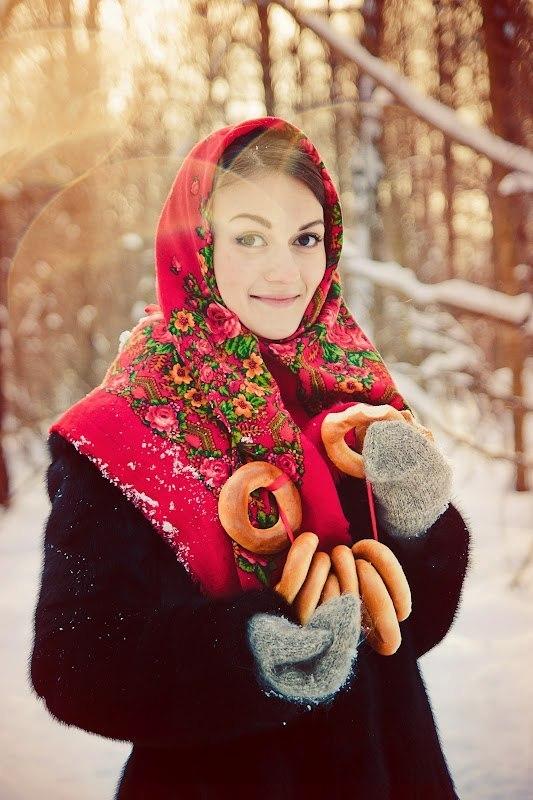 Настасья - Зима-Зима и чаровницы в красивых фотографиях