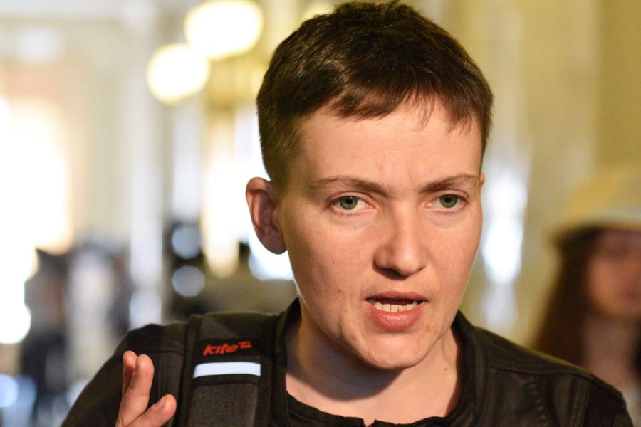 Надежда Савченко обратилась с просьбой к Владимиру Путину