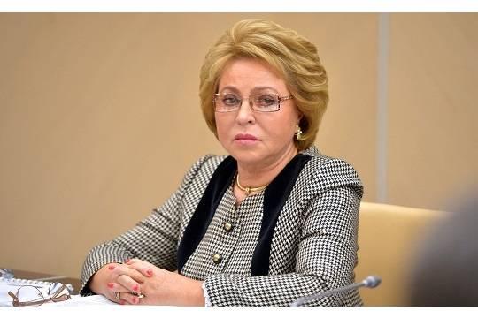 Матвиенко призвала россиян не хаять богатых жителей страны