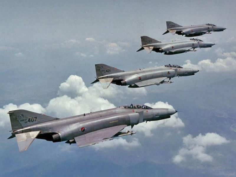 Истребительная авиация Южной Кореи - 2 ввс
