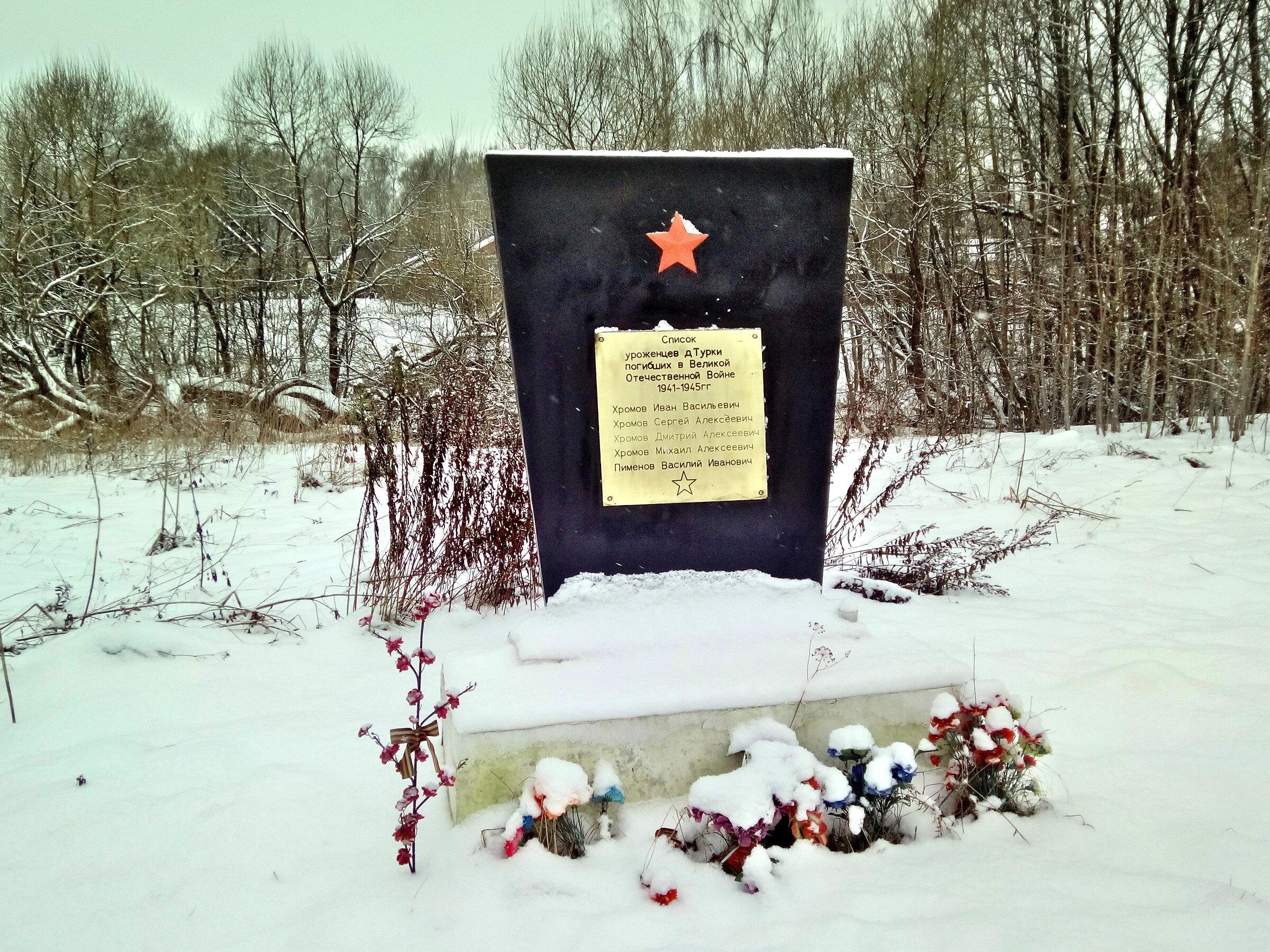Красота зимней русской деревни. Деревня Турки Киржачского р-на