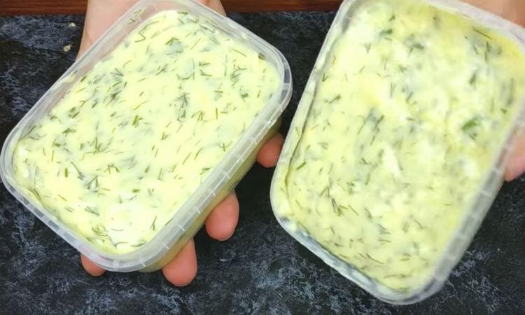 Сырная намазка вместо масла: сделали за 10 минут из полкило творога закуски,кулинария