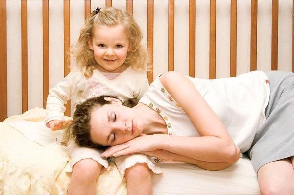 Как маме снять усталость и избавиться от хандры