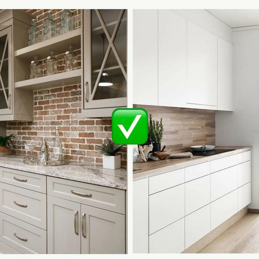 Кухонный фартук - центр притяжения взгляда в этом помещении, обязательно продумывайте его стиль и умело сочетайте с общим видом