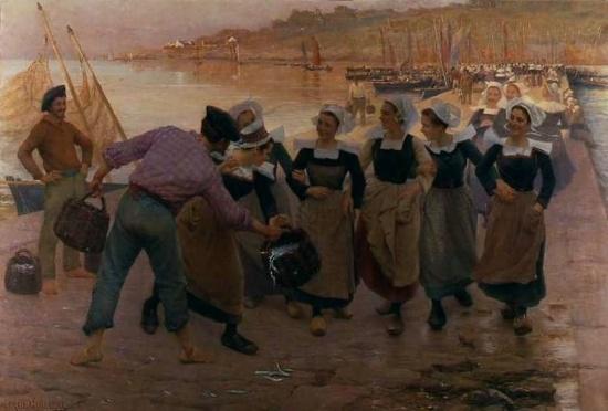художник Альфред Гийу (Alfred Guillou) картины – 19