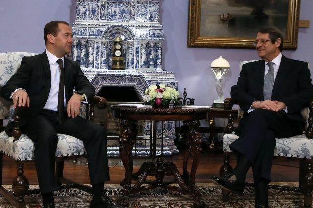 Медведев сообщил, что Россия и Кипр заключат новые соглашения