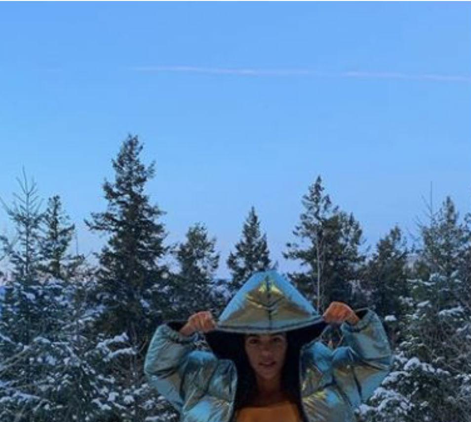 Звезды стали выходить в купальниках в снег Культура