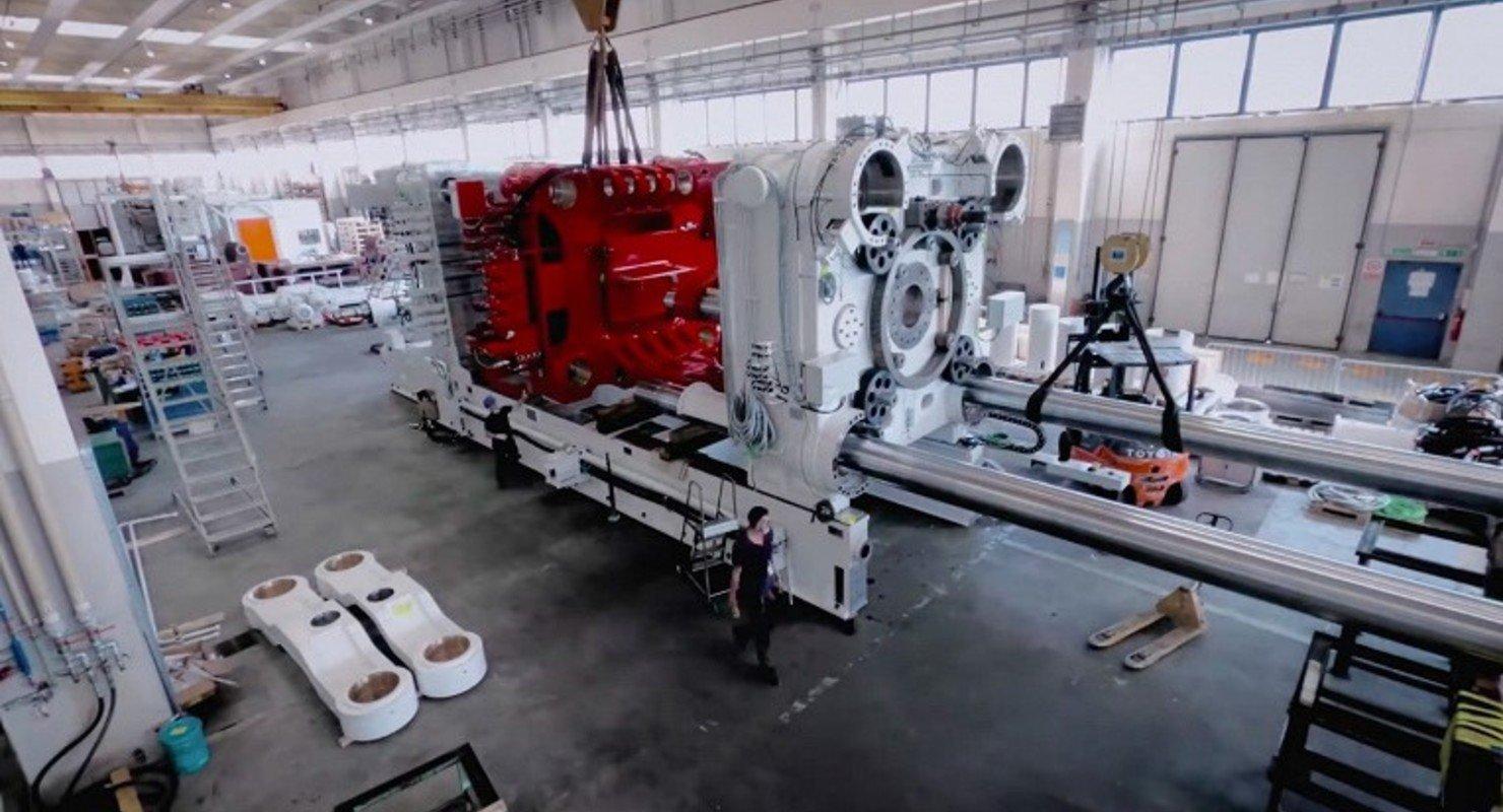 Tesla будет создавать пикапы Cybertruck с использованием самой мощной машины для литья алюминия под давлением Автомобили