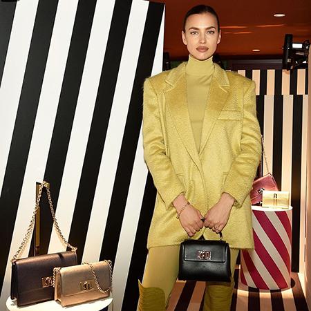 Ирина Шейк на презентации новой коллекции сумок в Милане коллекции, новой, Furla, рассказала, звезда, сумок, Вчерашний, русских, России, выросла, родилась, лучше, уггов, чтото, вроде, обувь—, обувью, модной, валенкиЭто, носила