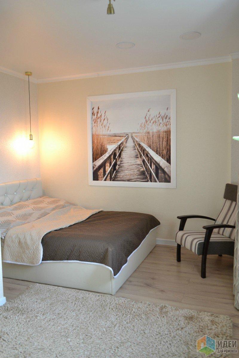 Ремонт спальни 19 кв. м.